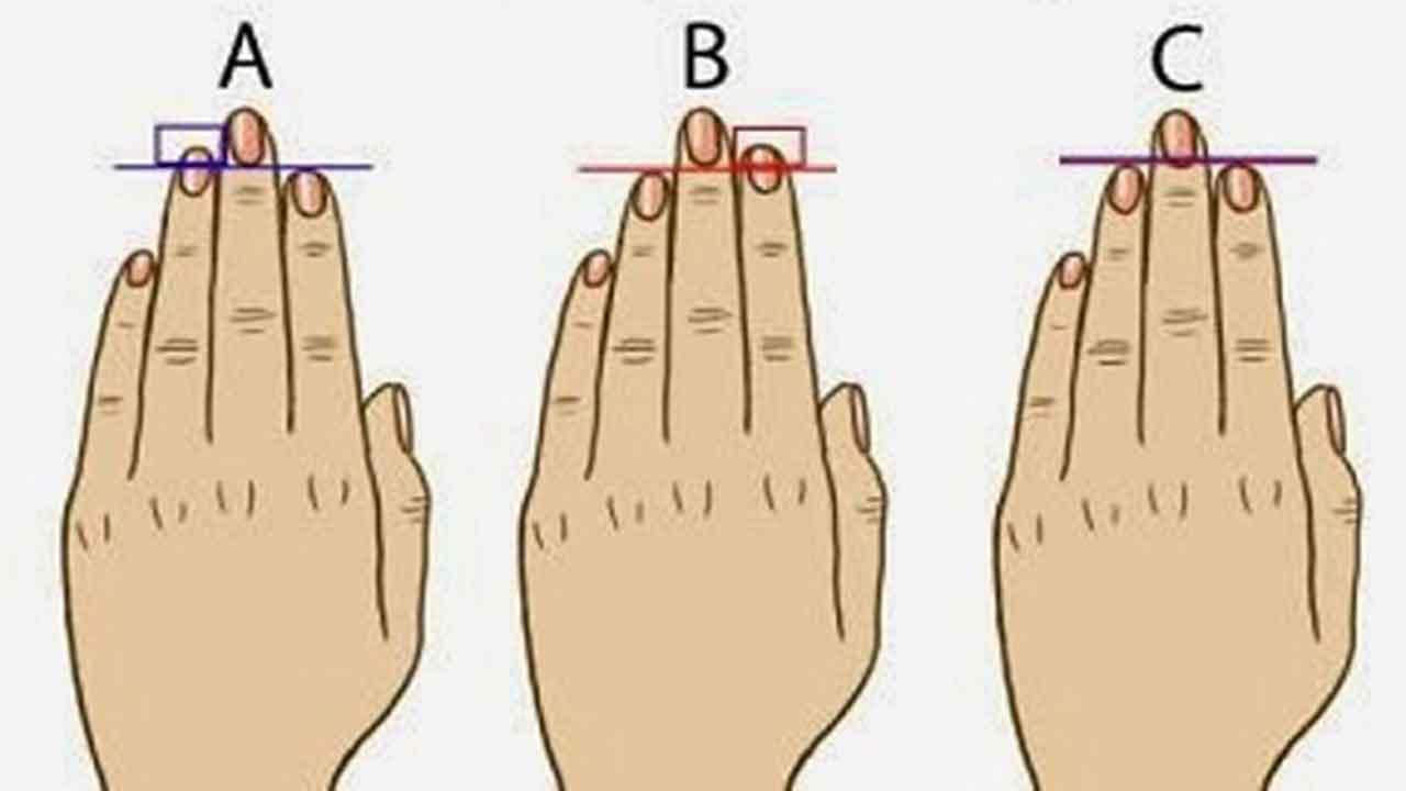 Aplūko savus pirkstus! Lūk, ko to garums vēsta par tavu mīlas dzīvi!