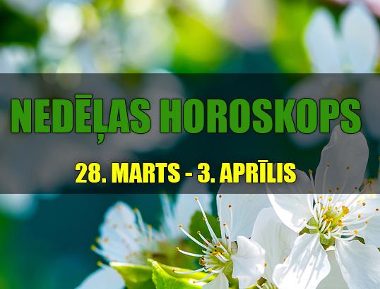 Nedēļas horoskops 28.03 – 03.04 – izmanto iespējas!