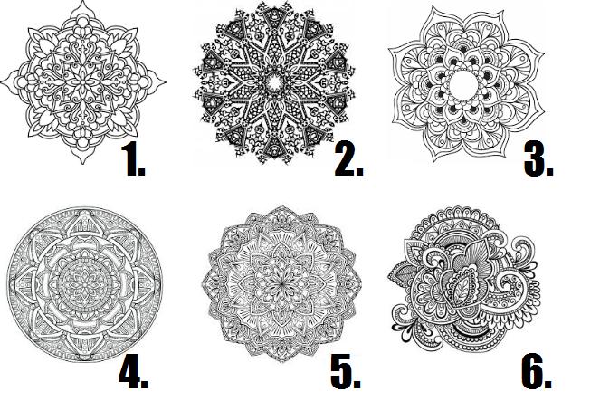 Izvēlies vienu no šīm mandalām; ko tas atklāj par tavu iekšējo būtību?