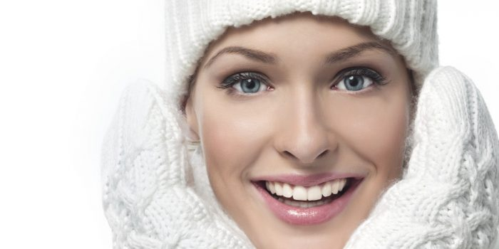girl in winter clothing outdoors