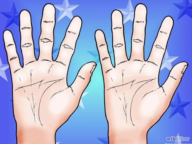 Ko katrs rokas pirksts liecina par cilvēka personību