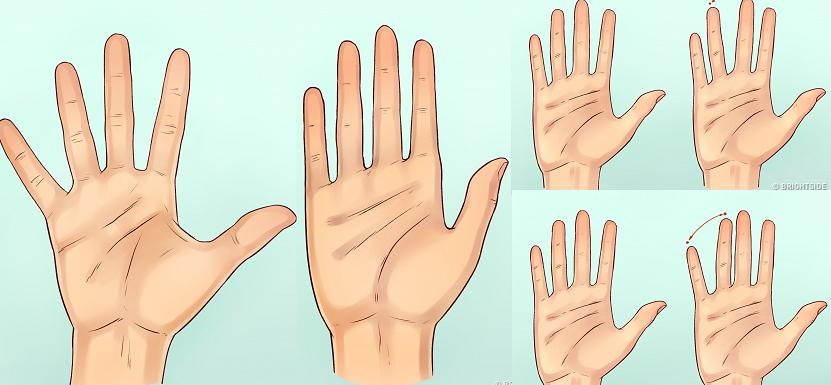 Pirkstu forma: Lūk, ko tā atklāj par tavu raksturu!