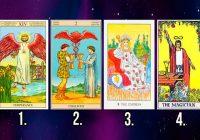 Izvēlies vienu no šīm 4 kārtīm, un uzzini, kas tevi sagaida pavisam tuvā nākotnē!