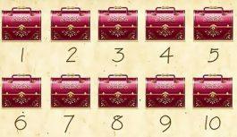 Šis tests noteiks, vai jums piemīt īpašas spējas. 3 lādēs atrodas zelts, vai spēj uzminēt-kurās?
